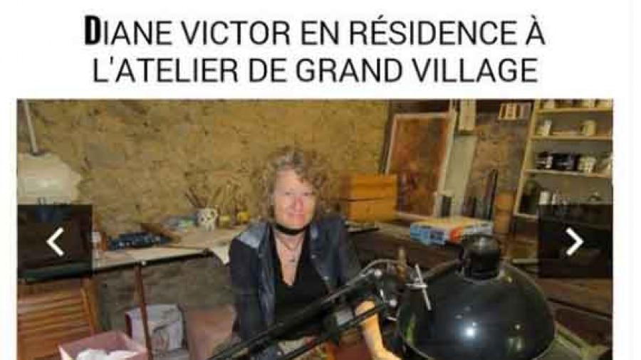 Diane Victor's Residency