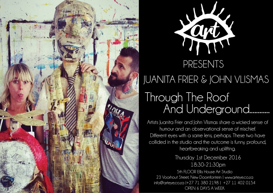 Through the roof and underground By John Vlismas and Juanita Frier