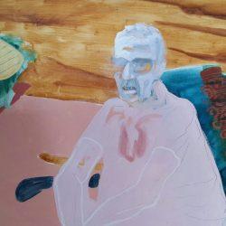 Michele Silk - Oil on canvas board - 2012