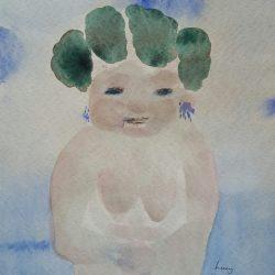 Robert Hodgins - Watercolour on Fabriano