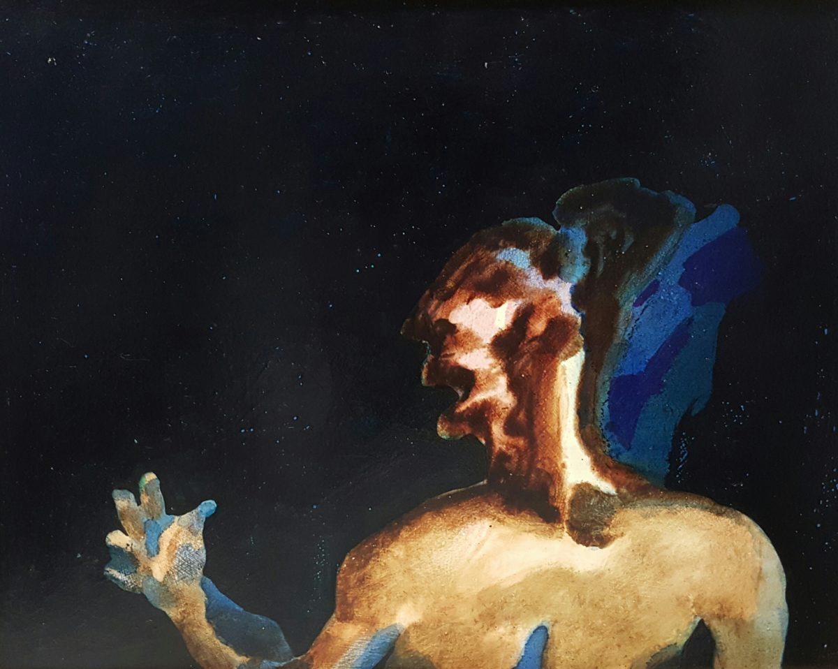 Robert Hodgins - Oil on canvas