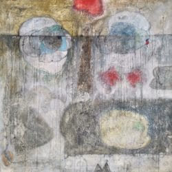 Hussein Salim - Mixed Media on Canvas - 2012