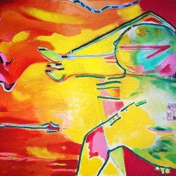 Robert Hodgins - Reaching for the Sun 1991