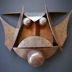 Edoardo Villa - Owl - Steel Mask