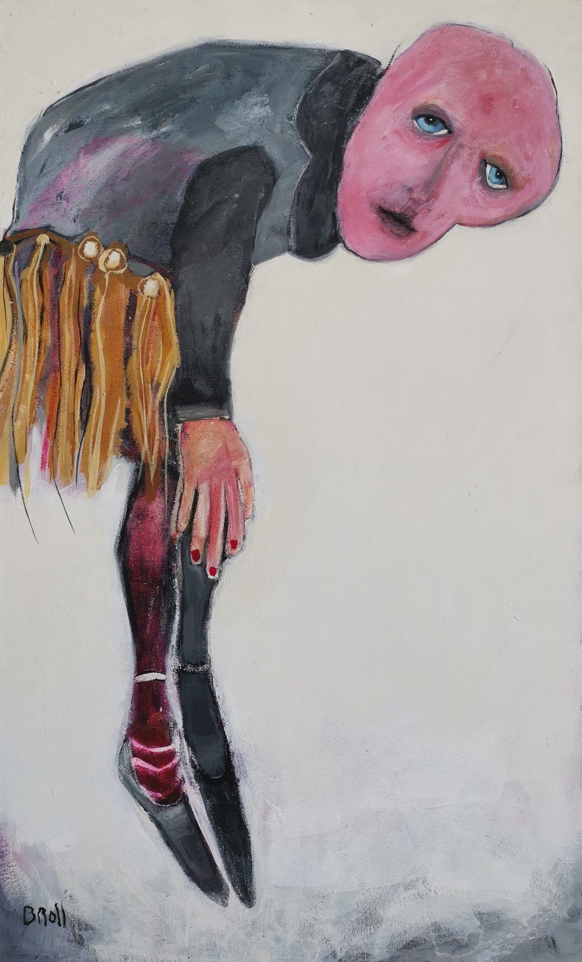 Terri Broll - Oil and wax