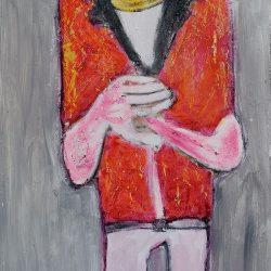 Terri Broll - A tentative life - Oil and wax