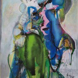 Toni Bico - Mixed Media on Canvas - 2017