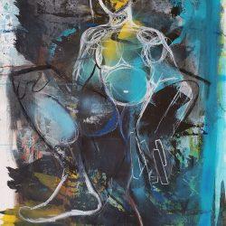 Toni Bico - Mixed Media on Canvas