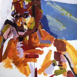 Lionel Murcott - Acrylic on Fabriano - 2019