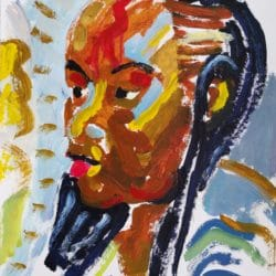 Lionel Murcott - Acrylic on Fabriano - 2018