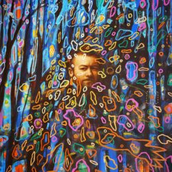 Kobus Walker - Fragments 1 - Oil on Canvas - 2018