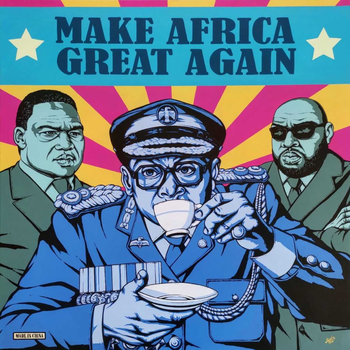 Louis Van Den Heever - Make Africa Great Again - 2017