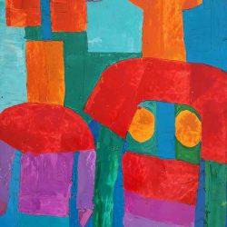 Trevor Coleman - Abstract Figures - 1996