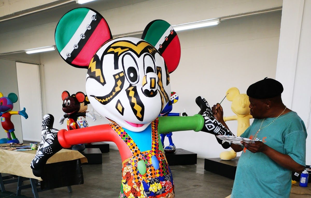 Local artists give Mickey Mouse an African makeover By Aneesa Adams 04 October 2018 – 12:47