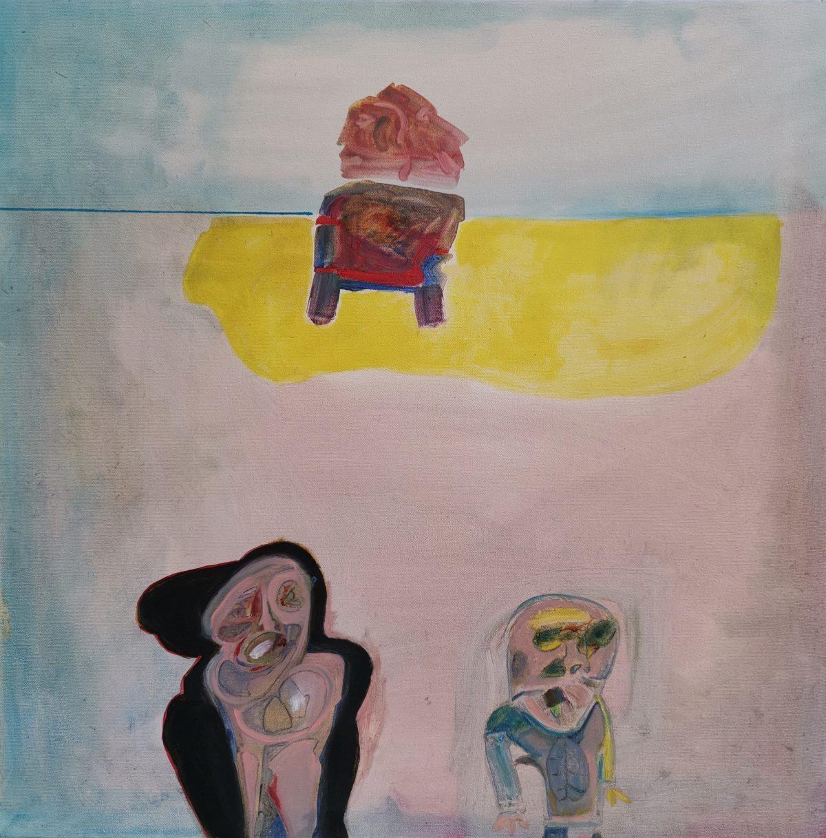 John Vlismas - Beach , Argument - Sunset - 2009