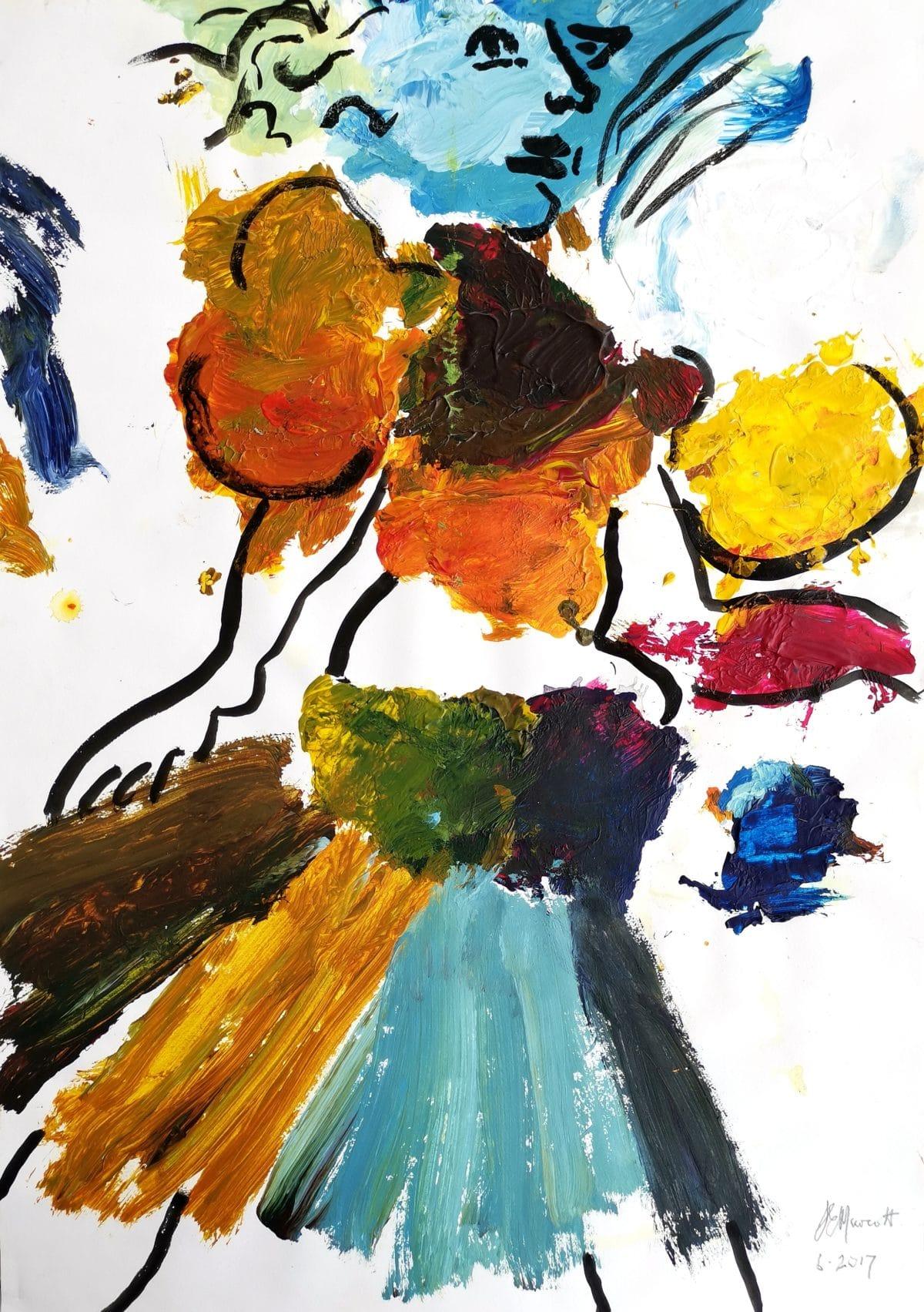 Lionel Murcott - Palette Painting 2017
