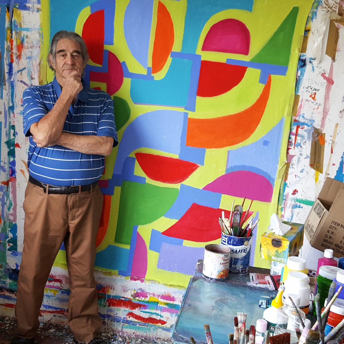 Artist Trevor Coleman proves success can come at any age 08 November 2015 – 02:00 BY OLIVER ROBERTS