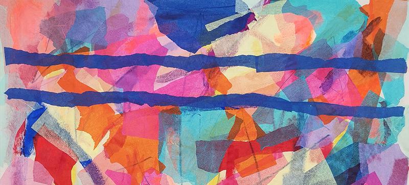 Trevor Coleman Clouds of colour