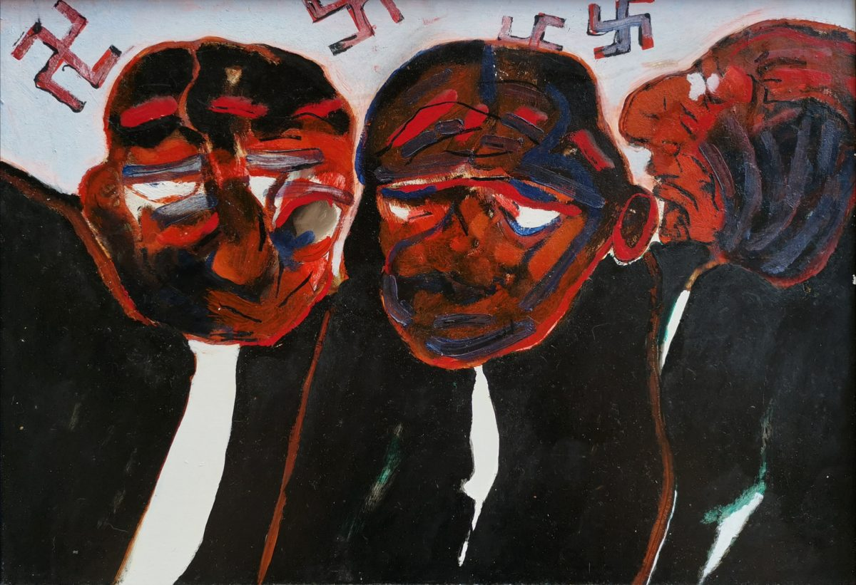 Robert Hodgins - The Night of the Reighstag Fire - 1984