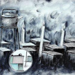 Siani Baloyi Hope in the darkness 50 x 70