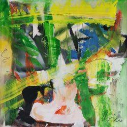 Toni Bico – Mixed media on canvas