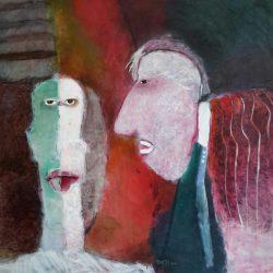 Terri Broll - Oil on Canvas Board