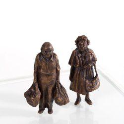 Michele Silk - Bronze Sculpture