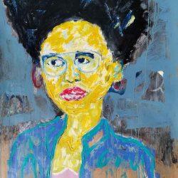 Thokozani Mthiyane - Portrait of Woman