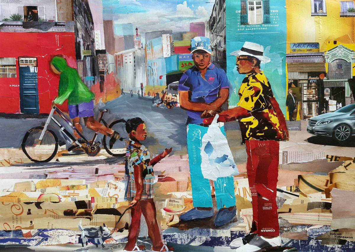Dominic Tshabangu - City Life
