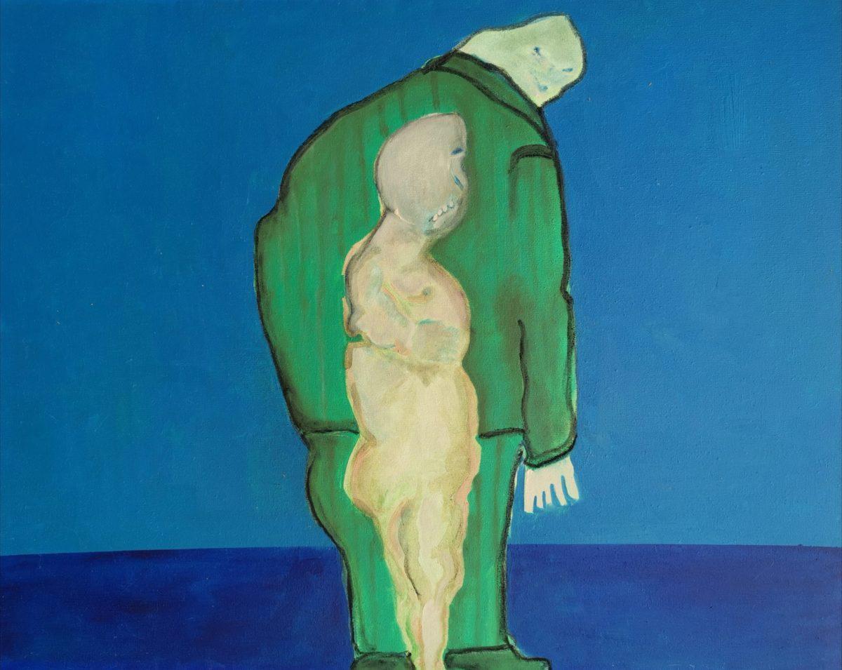 John Vlismas - Oil on Canvas