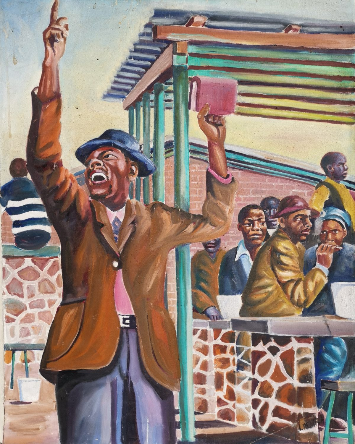 Lizo Pemba - Oil on Canvas