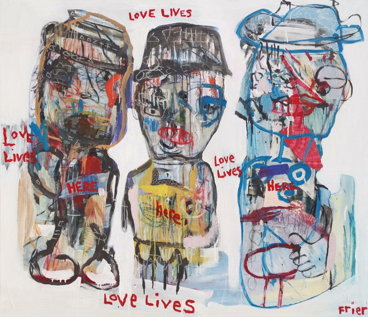 Juanita Frier - LOVE LIVES HERE