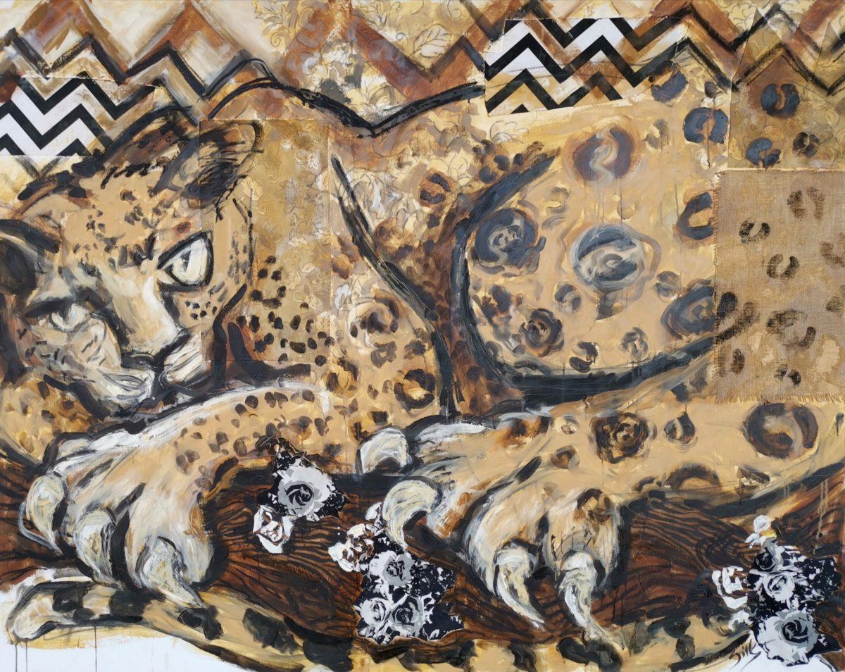 Michele Silk - Leopardess II