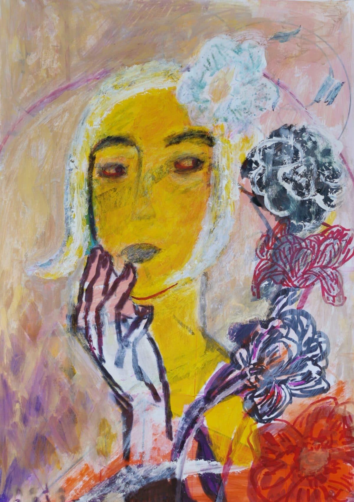 Neda Tavallaee - A suspicious Bouqet - 2020