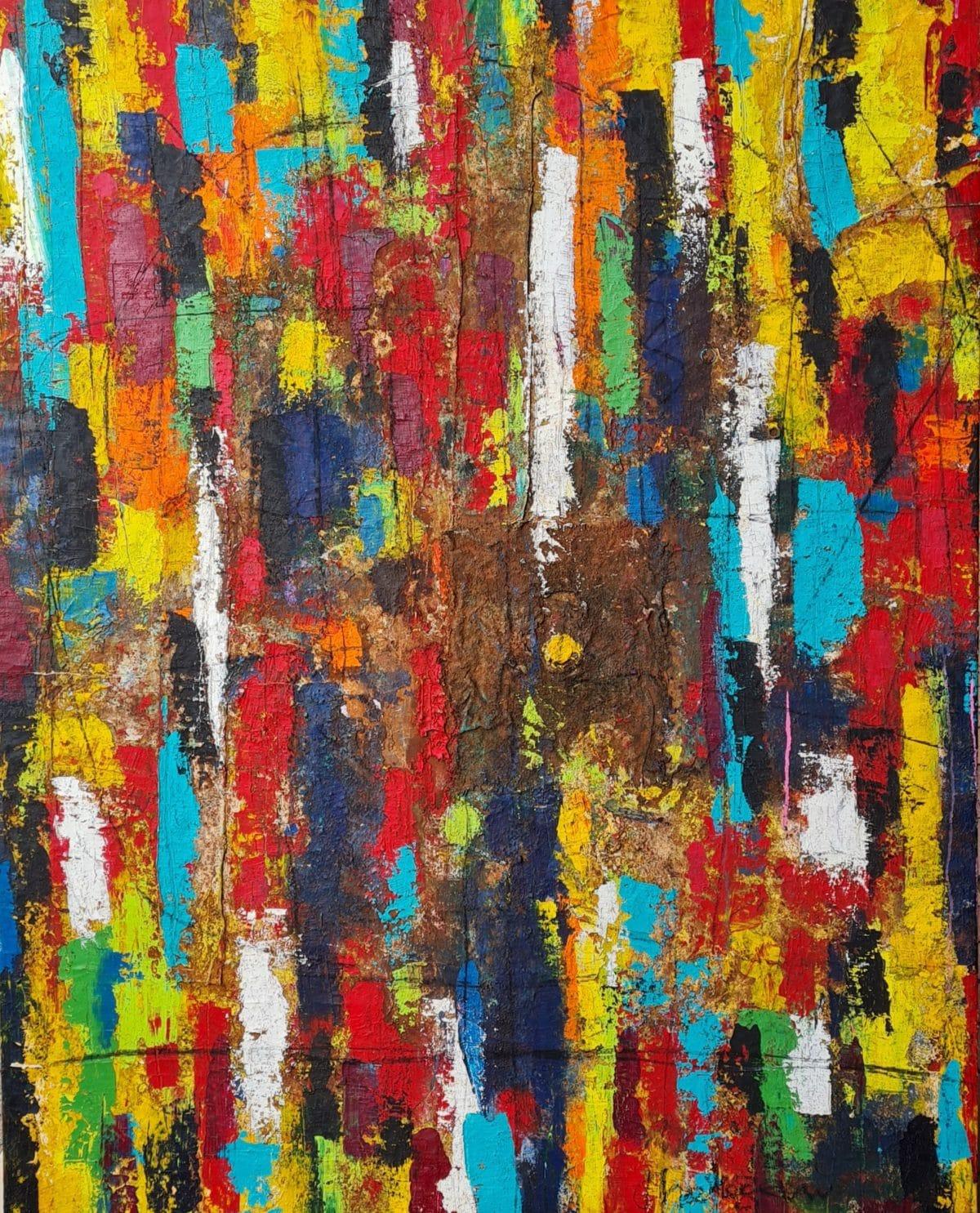 Thokozani Mthiyane - Layers of Light in a Sea of Colour