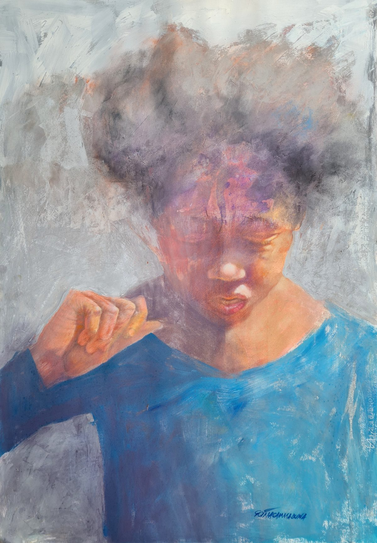 Sam Maduna - ' Girl in the Blue Dress '