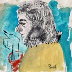 Terri Broll - Studio Sketch
