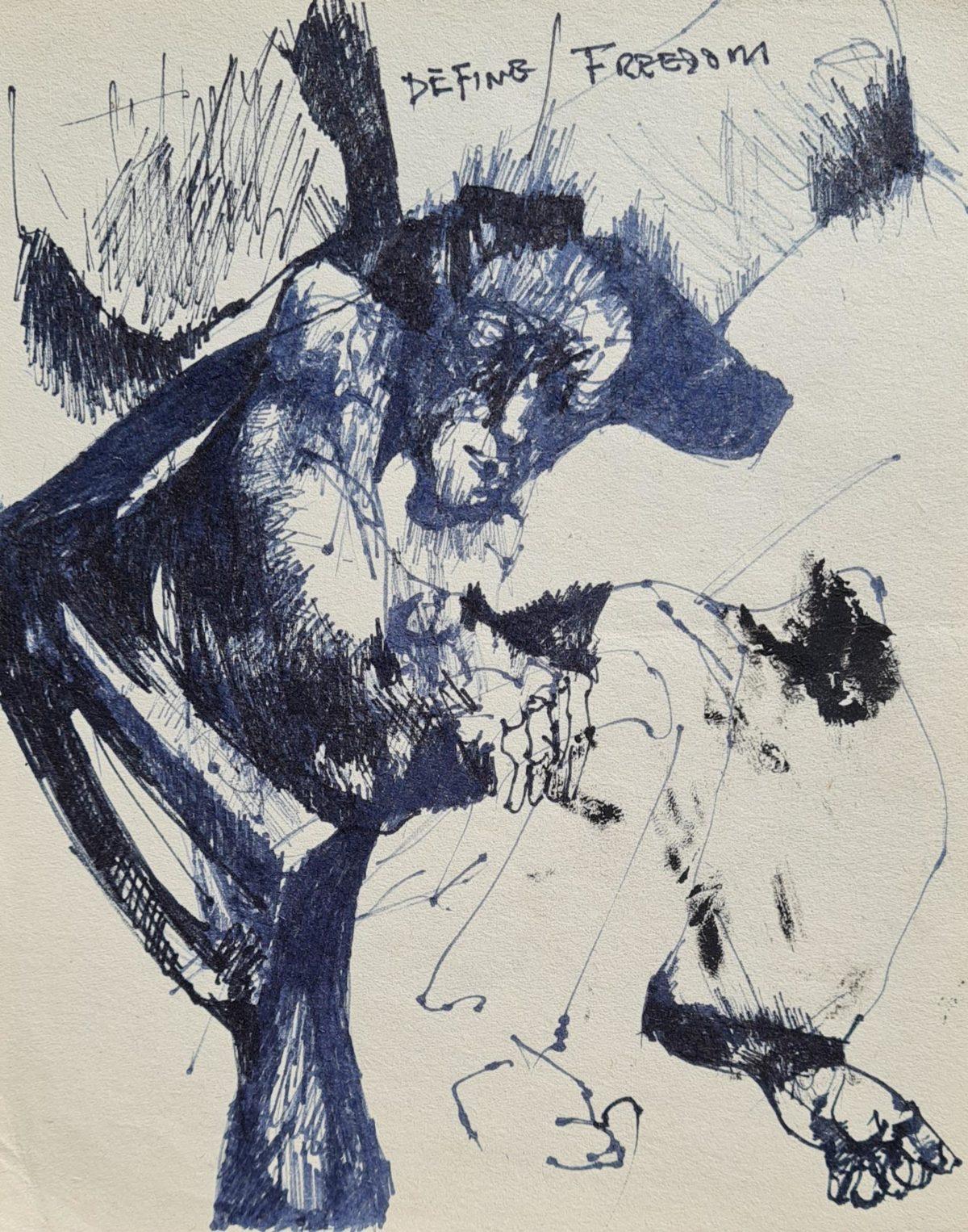Ezrom Legae - ' Define Freedom ' 1996